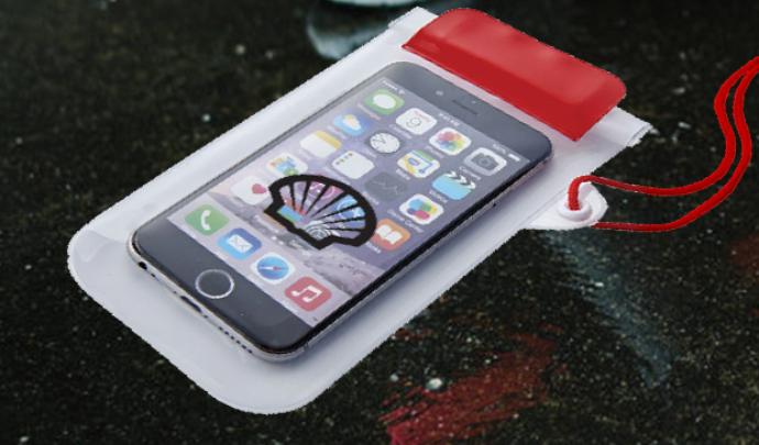 Shell Waterproof Smartphone Pouch