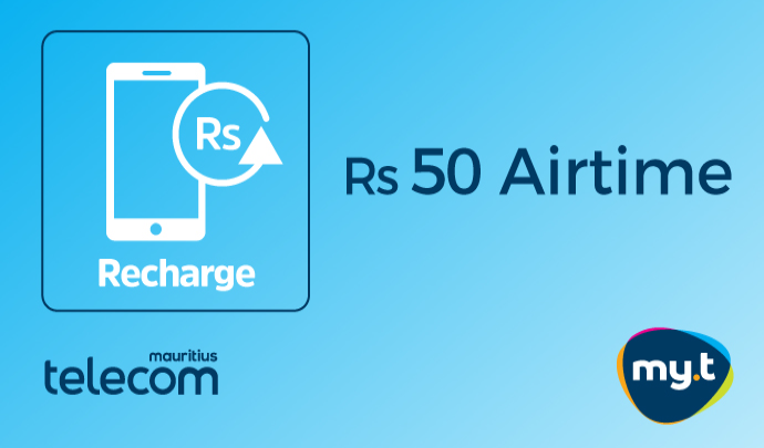 Rs 50 my.t Airtime