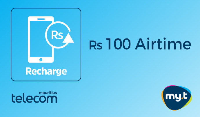 Rs 100 my.t Airtime
