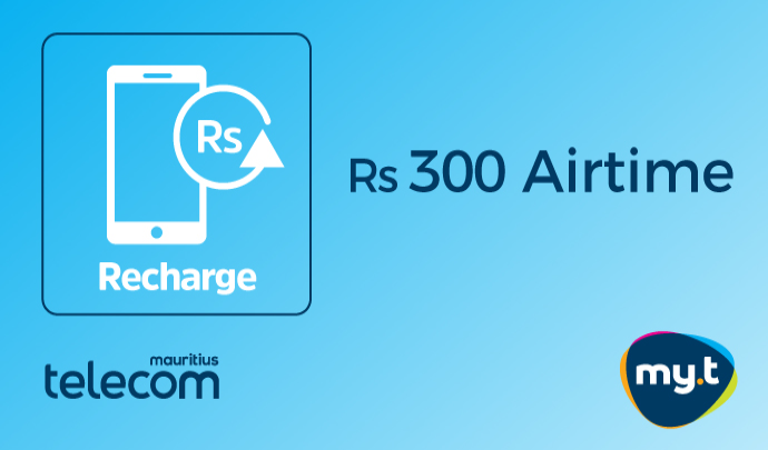 Rs 300 my.t Airtime