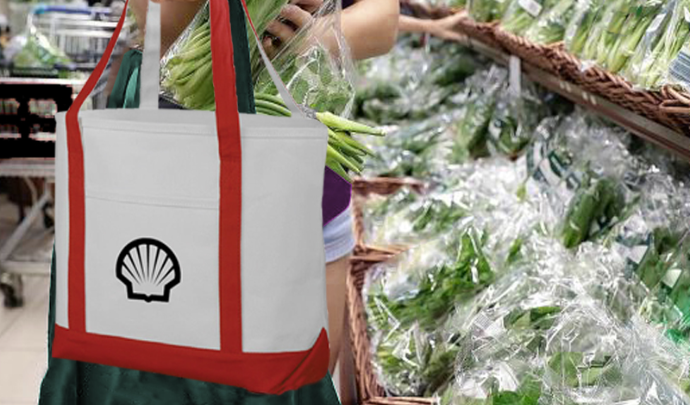 Shell Premium Heavy-Weight Cotton Tote Bag