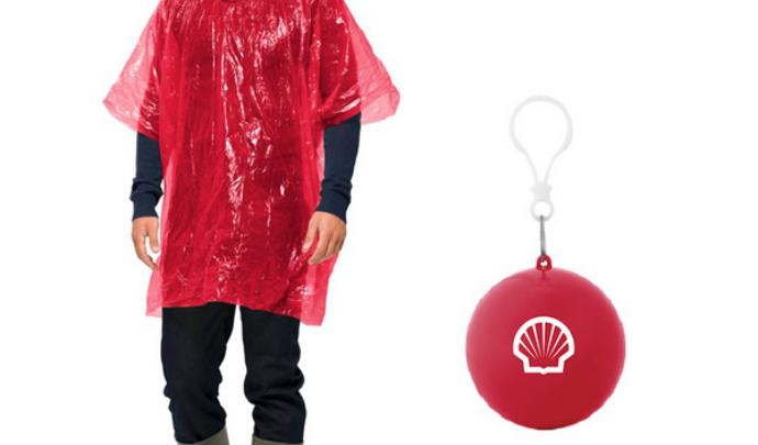 Shell Rain Poncho