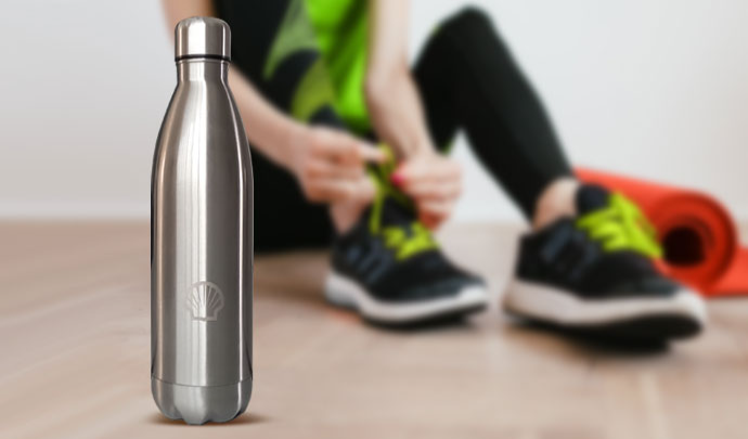 Shell Insulated Water Bottle
